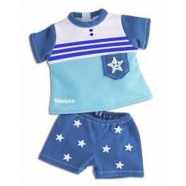 Nenuco Ropita Casual 35 cm. Conjunto Camiseta y Pantalón