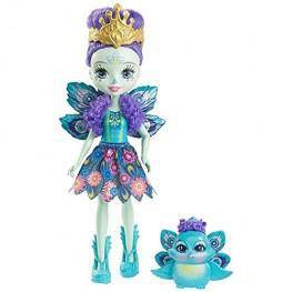 Enchantimals Muñeca Pavo Real Patter