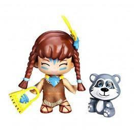 Pin y Pon Cuentos Figuras - Pocahontas y Mascota