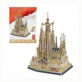 Puzzle 3D de la Sagrada Familia.