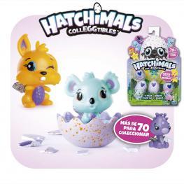 Hatchimals Colleggtibles 4 Huevos + 1 Figura