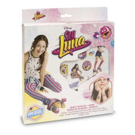 Comprar Soy Luna Tatuajes Set De Belleza Y Esponja De Toy Partner