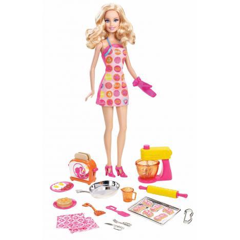Comprar Barbie Cocinera Y Accesorios De Mattel Kidylusion