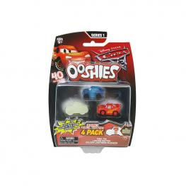 Cars - Ooshies Pack de 4 Personajes.
