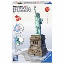 PUZZLE 3D ESTATUA DE LA LIBERTAD 216 PIEZAS