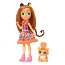 Enchantimals Muñeca Cherish Leopardo & Quick.