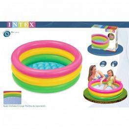 PISCINA BEBE SUNSET GLOW 3 AROS