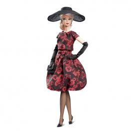 Barbie Colección Elegante Rosa Vestido Cóctel.