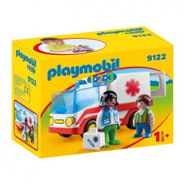 Playmobil - 1, 2, 3 Ambulancia.