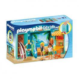 Playmobil - Cofre Tienda Surf.
