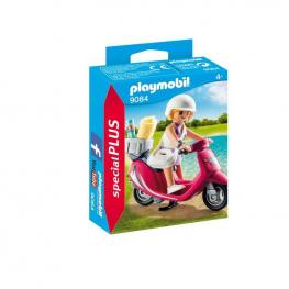Playmobil - Mujer Con Scooter.