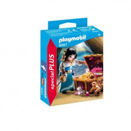 Playmobil - Pirata Con Tesoro.