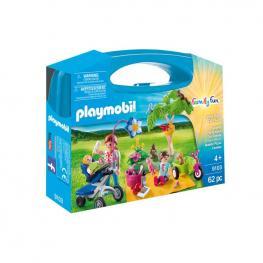 Playmobil - Maletín Grande Picnic Familiar.