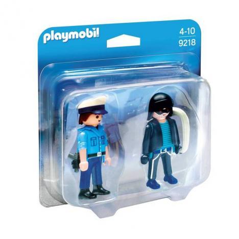 Playmobil - Duo Pack Policía y Ladrón.