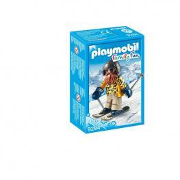 Playmobil - Esquiador Con Snowblades.