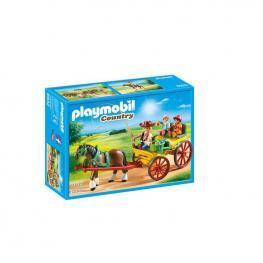 Playmobil - Carruaje Con Caballo.