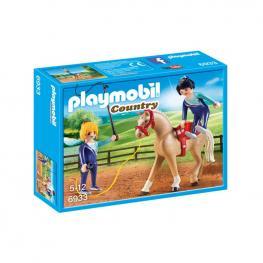 Playmobil - Entrenador De Caballos.