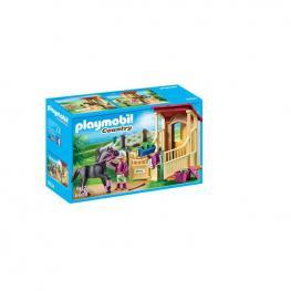 Playmobil - Caballo Árabe Con Establo.