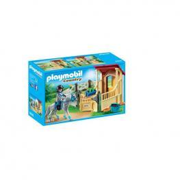 Playmobil - Caballo Appaloosa Con Establo.
