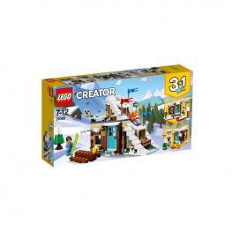 Lego Creator - Refugio De Invierno Modular 3 En 1.