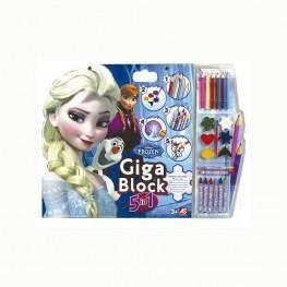 FROZEN GIGA BLOCK 5 EN 1