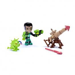 Mutant Busters Lucha En El Agua - Mutant Buster Bestia Verde.
