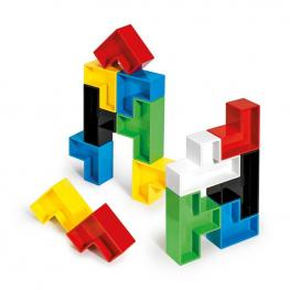 Puzzle Cubos  19 Piezas.