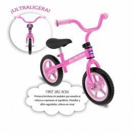 Primera Bicicleta Rosa.
