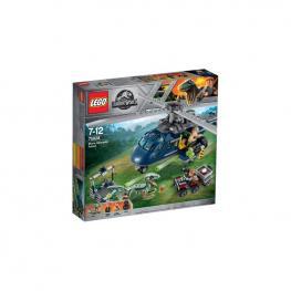 Lego Jurassic World - Persecución En Helicóptero De Blue.