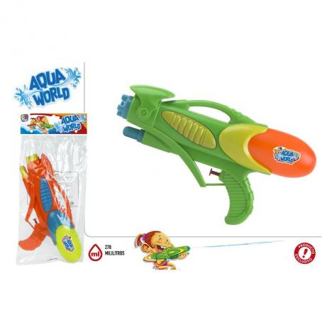Pistola De Agua Aqua World 30 cm.