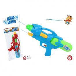 Pistola De Agua Aqua World 38 cm.