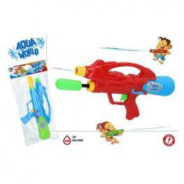 Pistola De Agua Aqua World 39 cm.