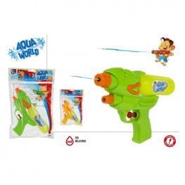 Pistola De Agua Aqua World 21 cm.