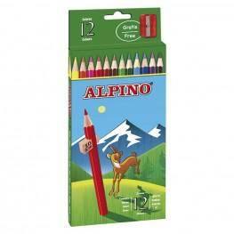 12 LAPICES ALPINO CARTON