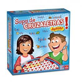 Sopa Cruzaletras Junior.