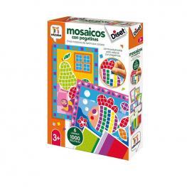 Mosaicos Con Pegatinas.