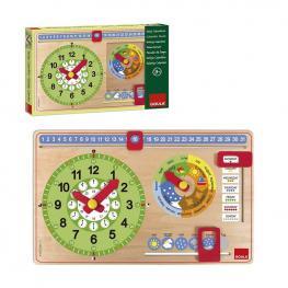 Reloj Calendario Inglés.