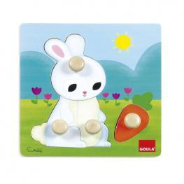 Puzzle Conejo.