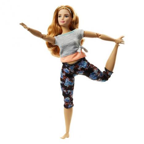 Barbie - Movimientos Sin Límites Castaña Curvy.