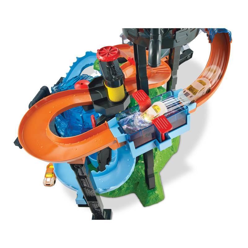 Comprar Hot Wheels City Cocodrilo Tunel De Lavado De Mattel