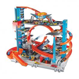 Hot Wheels City - Garaje Acrobacias.