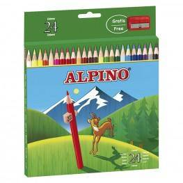 24 LAPICES ALPINO CARTON