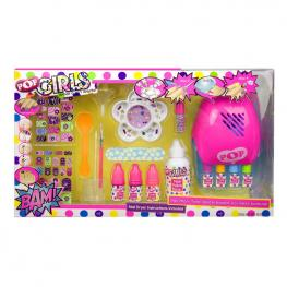 Kit De Uñas Pop Many Time!