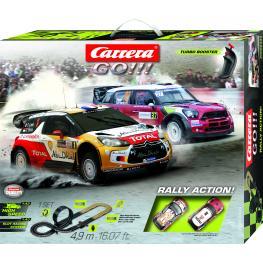 Circuito Carrera Go Rally Action.