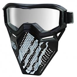 Nerf Rival - Máscara negra y blanca.