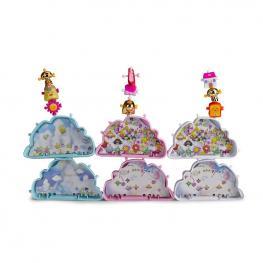 Wizies Nube Con 3 Figuras Serie 1.