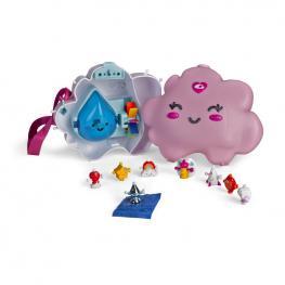 Wizies Nube Bolso Con 8 Figuras Serie 1.
