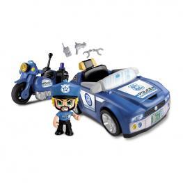 Pin y Pon Action - Policía Vehículos.