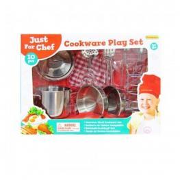 Set Cocina Metal 10 Piezas.