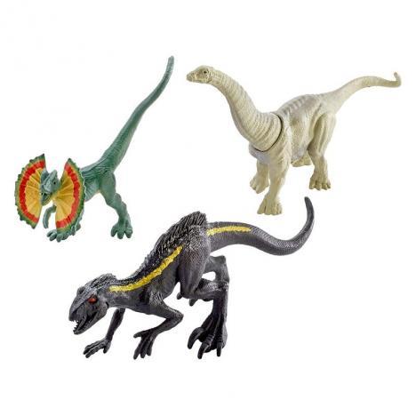 Comprar Jurassic World Pack 3 Mini Dinosaurios Indoraptor De Mattel Kidylusion En este cartel, dinosaurios de la subfamilia ceratopsid chasmosaurinae; jurassic world pack 3 mini dinosaurios indoraptor
